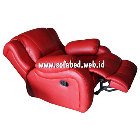 jual sofa reclining buka full
