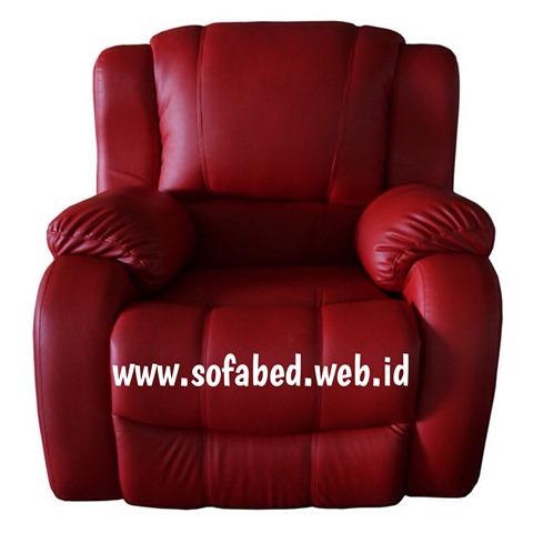 jual sofa reclining depan