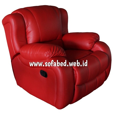 jual sofa reclining samping
